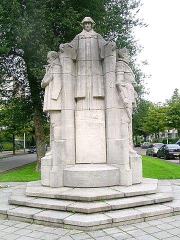 Monument in het Haagse Bezuidenhout voor Juliana van Stolberg en haar vijf zoons uit haar tweede huwelijk. Foto: Wikipedia.
